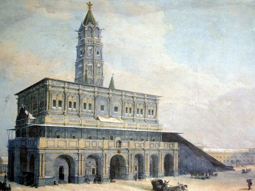 James Daniel Bruce и его Сухарева башня