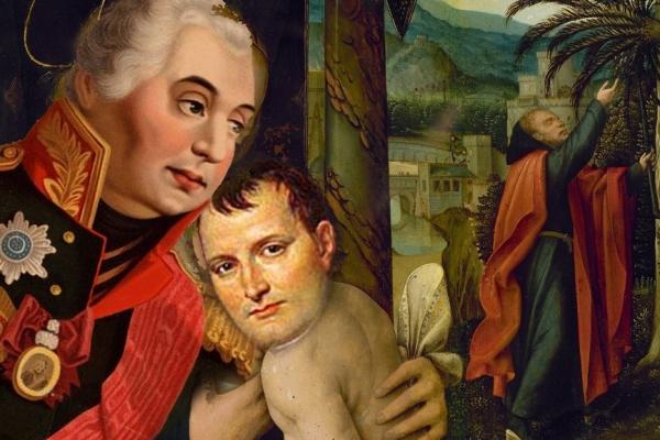 Koutouzov - mom Napoléon Bonaparte 2a