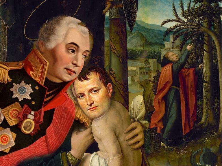 Koutouzov - mom Napoléon Bonaparte 2b