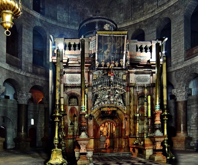 Кувуклия Храма Гроба Господня