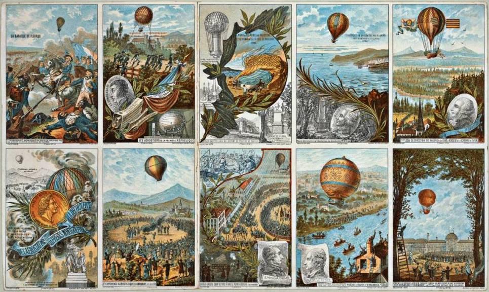 Первые полеты на воздушных шарах