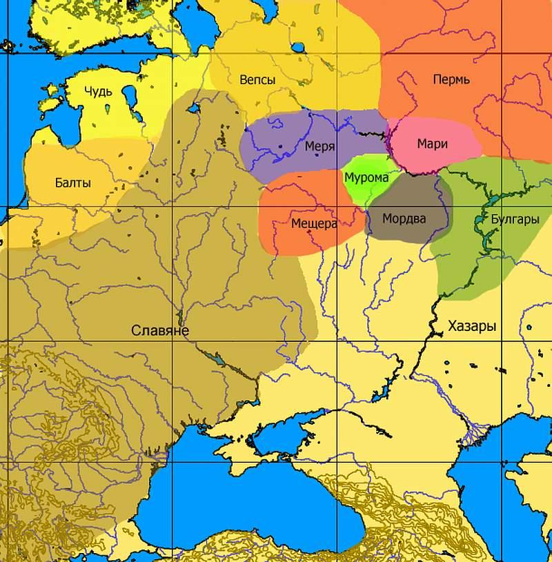 Russia Народы Руси и России в историческом прицеле
