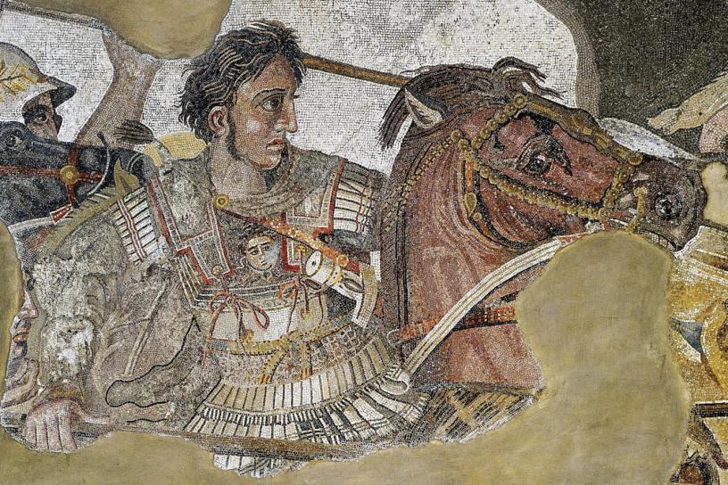 Греция, Александр Македонский, Древний Рим, Средняя Азия