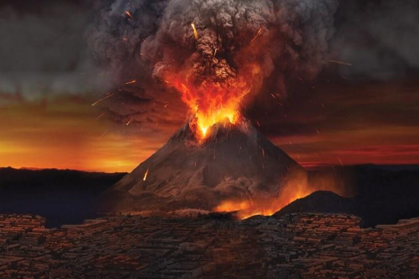Вулкан Везувий, катастрофа и болезни, чума, смерть