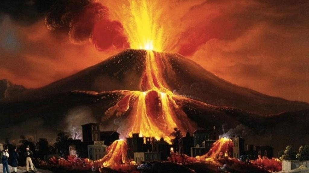 Pompeii Вулкан Везувий,  катастрофа и болезни, чума, смерть