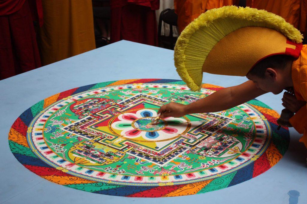 Sacred Mandala Unmanifested