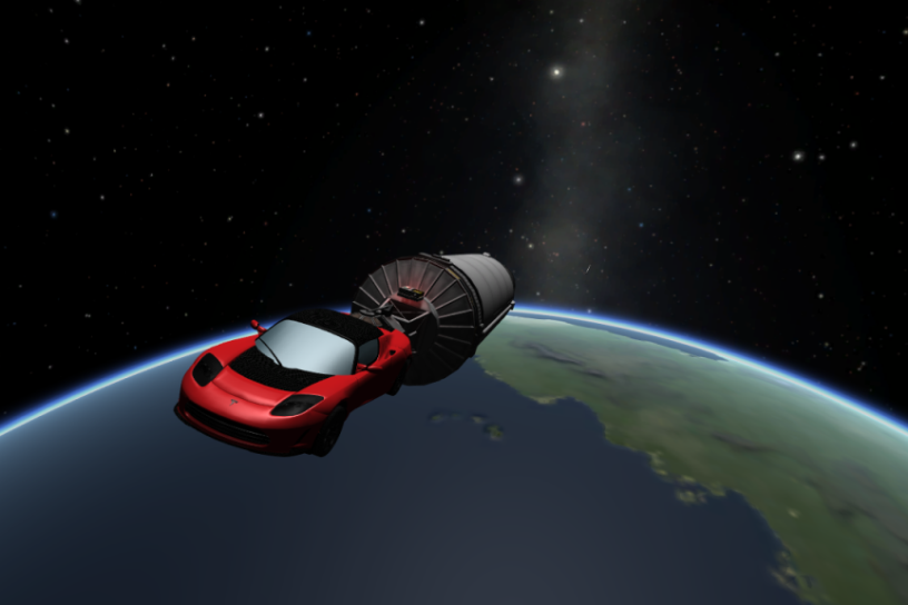 SpaceX, Falcon Heavy, Tesla
