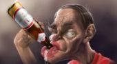 алкоголик и придурок Кузьминский-Махно