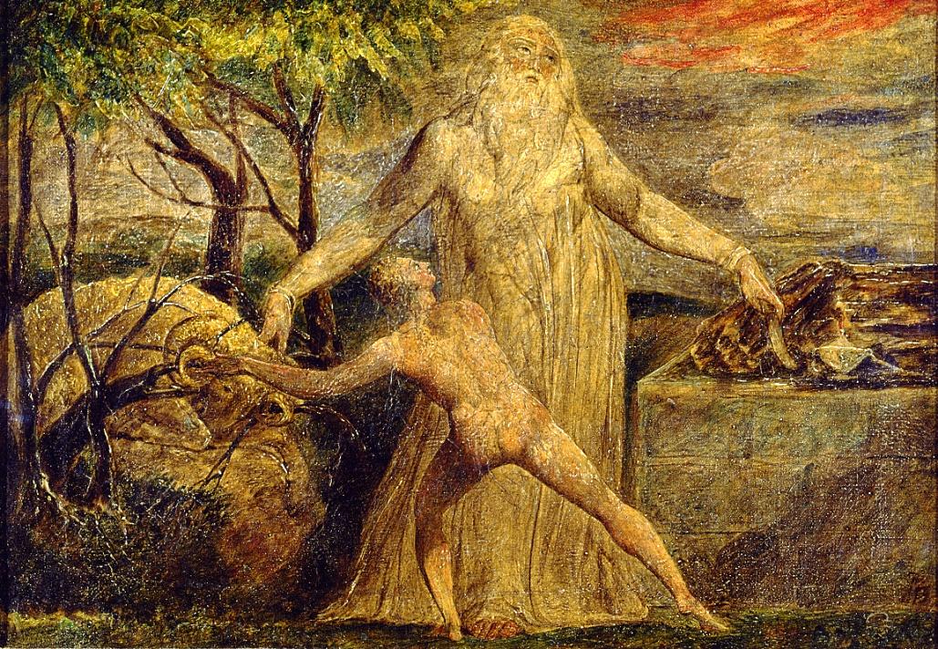Уильям Блейк. Авраам и Исаак