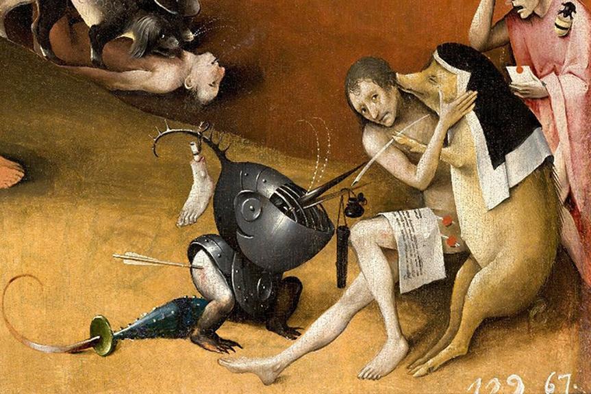 Salvador Domingo Felipe Jacinto Dalí & Hieronymus Bosch
