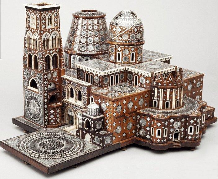 Модель Храма Гроба Господня в Иерусалиме, 1680