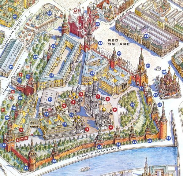 Moscow Kremlin Обман и фальсификация в истории будут всегда