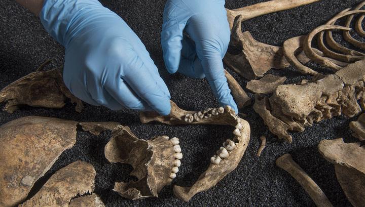 Исследование найденных в Лондоне человеческих останков