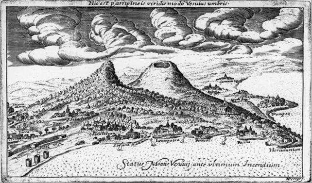 Везувий до извержения 1631 г.