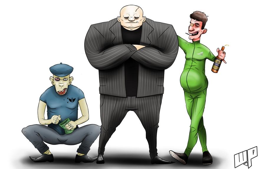 criminal гопники и жулики