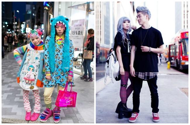 Японские уличные модники