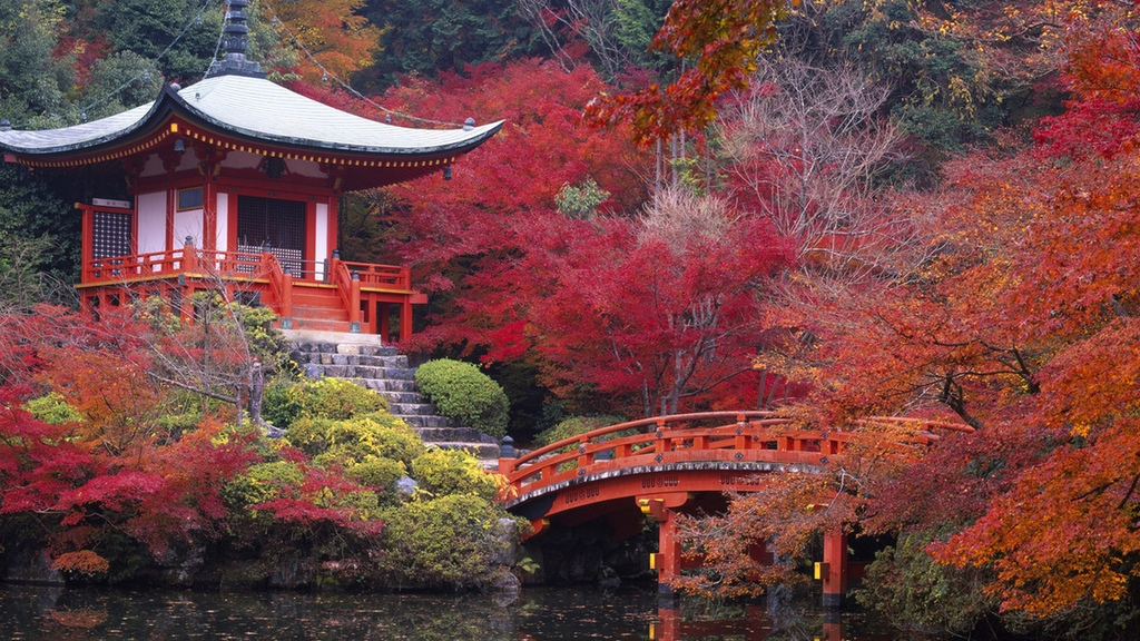 Храм Дайго-Джи в Киото