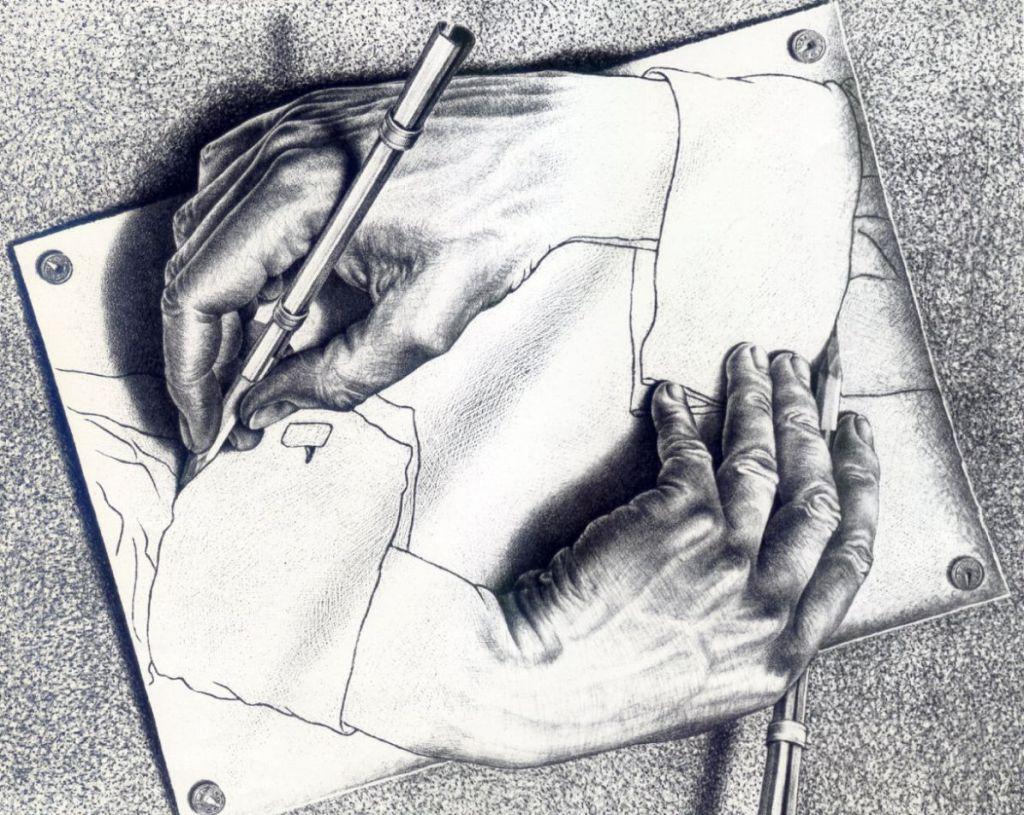 Maurits Cornelis Escher Фальшивая цивилизация и талант Albrecht Dürer Альбрехт Дюрер и Мориц Эшер