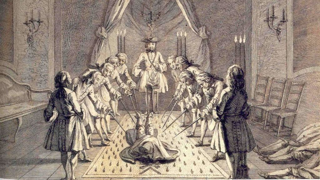 Становление русского масонства